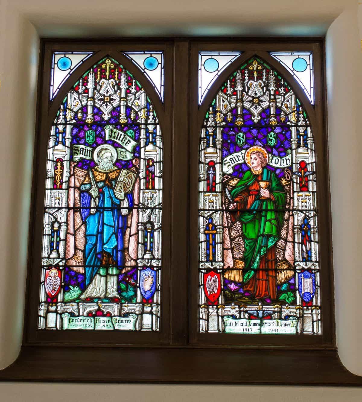 Painted Glass Window