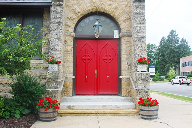 Iconic Red Front Doors